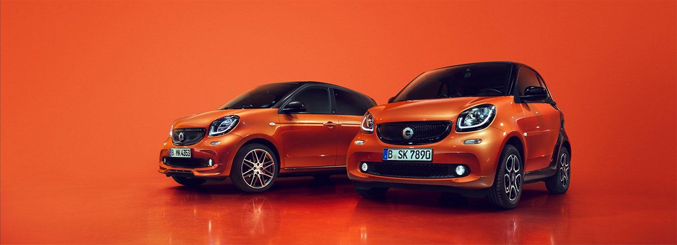 smart fortwo, smart forfour