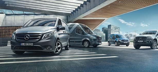 Modellübersicht Mercedes-Benz Transporter.