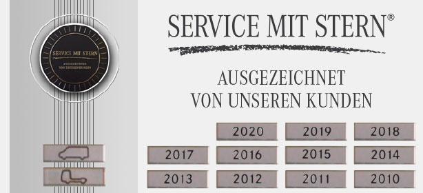 Service mit Stern