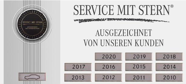 Service mit Stern 2020