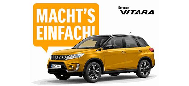 Der neue Suzuki Vitara.