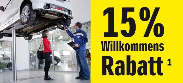 Suzuki Service. 15% sparen.