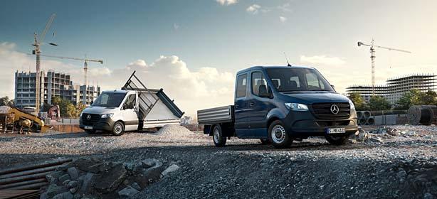 Mercedes-Benz Transporter Branchenlösungen