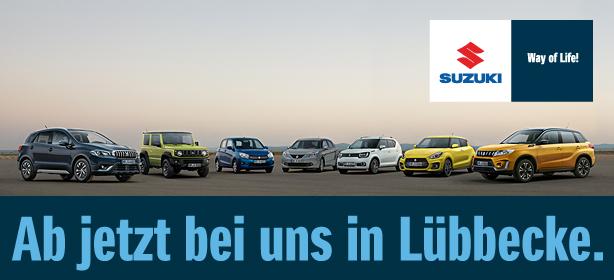 Suzuki - jetzt neu im Autohaus Weitkamp in Lübbecke