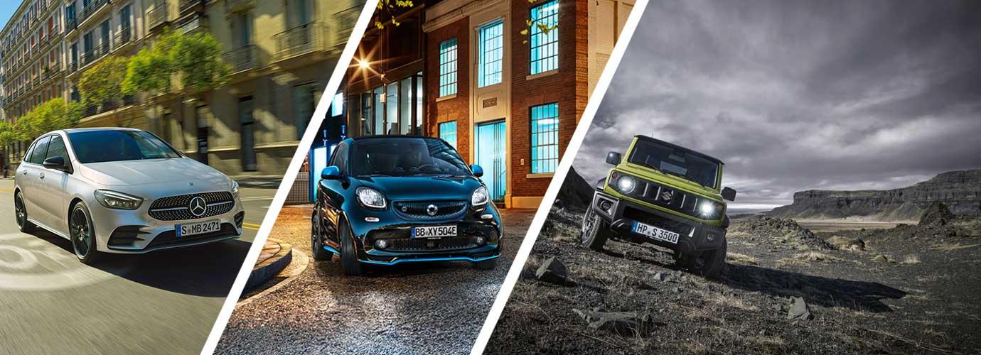 Mercedes-Benz, Suzuki und smart Neuwagen