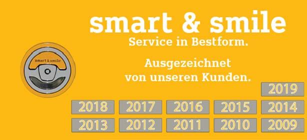 Zertifikat smart & smile 2019