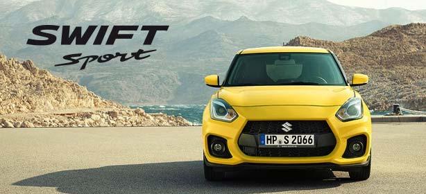 Der Suzuki Swift Sport.