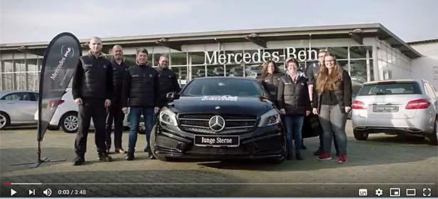 Team vom Autohaus Weitkamp gewinnt die Mercedes me Challenge 2018.